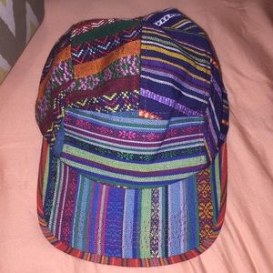 Accessories - Tribal Print Skater Hat